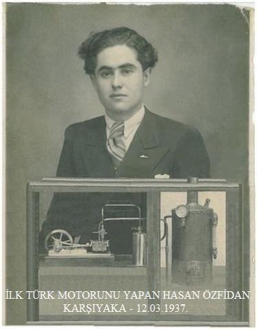 İlk Yerli Türk Motorunu Yapan - Hasan Özfidan.